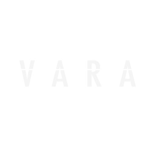 LAMPA D-Box 630, box tetto in ABS, 630 litri -Argento lucido